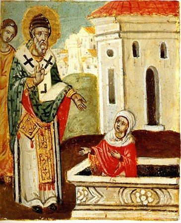 молиться Спиридону Тримифунтскому