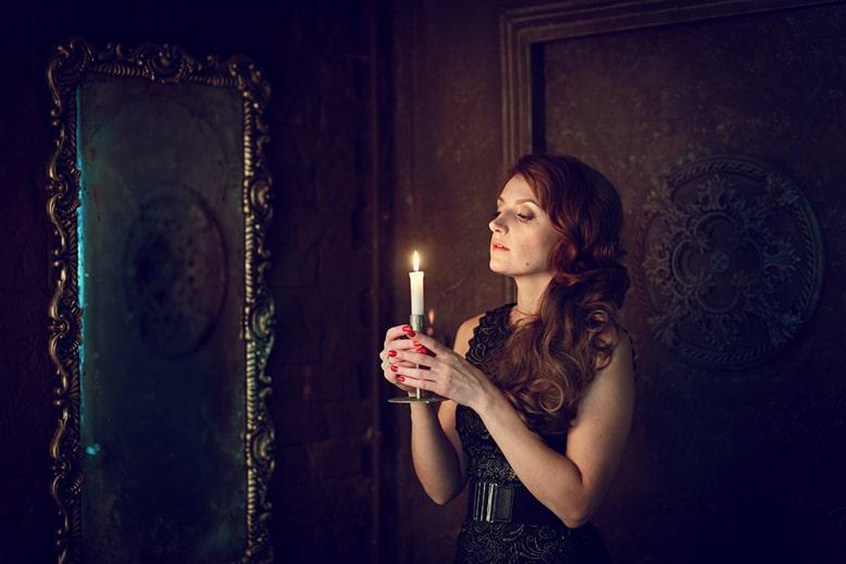 избавиться от самосглаза с помощью свечи