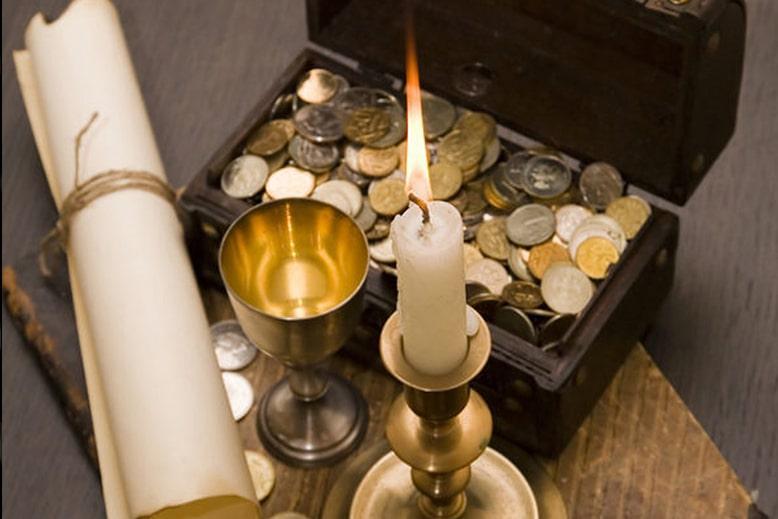 ритуал с монетами